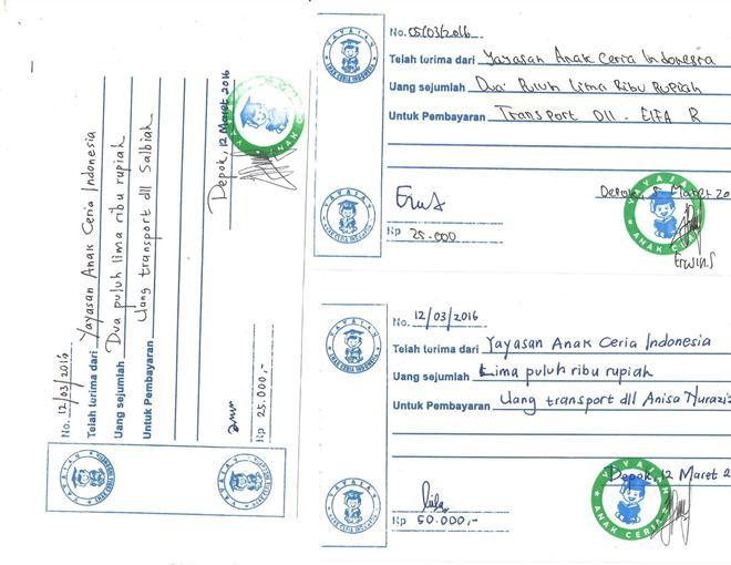 laporan Kwitansi Transport yatim Yayasan Anak Ceria Indonesia_Page_1