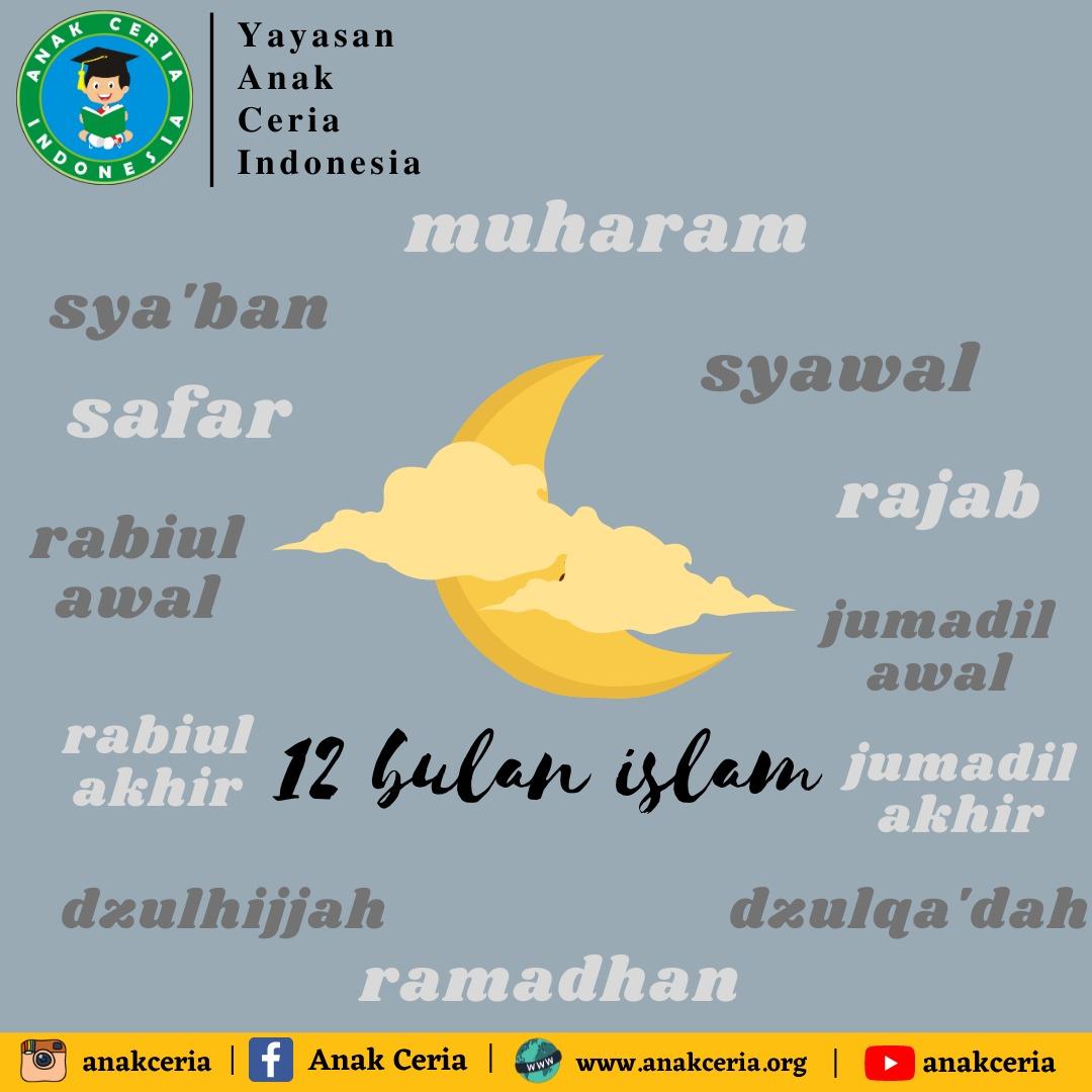 25 20 Nama Bulan Hijriyah dan Keutamaannya – Yayasan Anak Ceria Indonesia